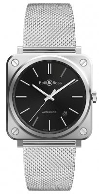Bell & Ross BR S Automatic 39mm BRS92-BLC-ST/SST watch