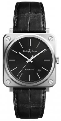 Bell & Ross BR S Automatic 39mm BRS92-BLC-ST/SCR watch