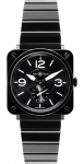 Bell & Ross BR S Quartz 39mm BRS Black Ceramic Bracelet watch