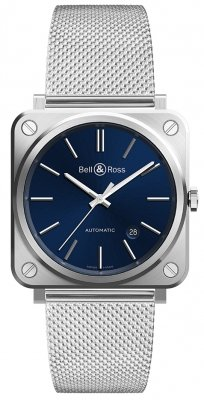 Bell & Ross BR S Automatic 39mm BRS92-BLU-ST/SST watch