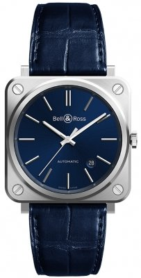 Bell & Ross BR S Automatic 39mm BRS92-BLU-ST/SCR watch