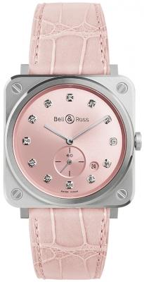 Bell & Ross BR S Quartz 39mm BRS-PK-ST-DIA/SCR watch
