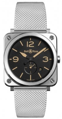 Bell & Ross BR S Quartz 39mm BRS-HERI-ST/SST watch