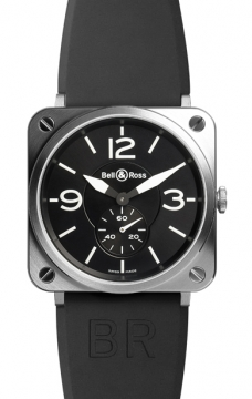 Bell & Ross BR S Quartz 39mm Midsize watch, model number - BRS Steel, discount price of £1,245.00 from The Watch Source