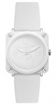 Bell & Ross BR S Quartz 39mm BRS White Ceramic Phantom watch