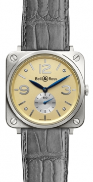 Bell & Ross BR-S Mechanical Gold 39mm Midsize watch, model number - BRS White Gold, discount price of £6,862.00 from The Watch Source