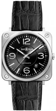 Bell & Ross BR S Automatic 39mm BRS92-BL-ST watch