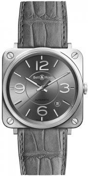 Bell & Ross BR S Automatic 39mm BRS92-RU-ST/SCR watch