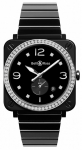Bell & Ross BR S Quartz 39mm BRS-BL-CES-LGD/SCE watch