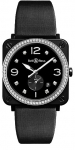 Bell & Ross BR S Quartz 39mm BRS-BL-CES-LGD/SSA watch