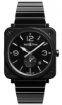 Bell & Ross BR S Quartz 39mm BRS-BL-CES/SCE watch