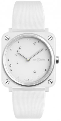 Bell & Ross BR S Quartz 39mm BRS-EW-CE/SF watch