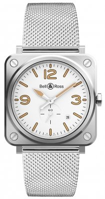 Bell & Ross BR S Quartz 39mm BRS-WHERI-ST/SST watch