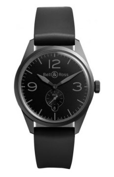 Bell & Ross BR 123 Vintage Mens watch, model number - BRV 123 Phantom, discount price of £1,755.00 from The Watch Source
