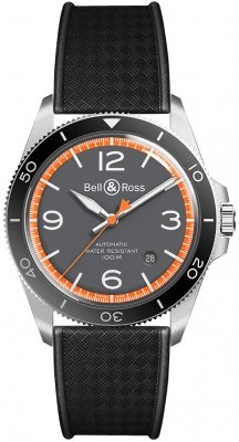 Bell & Ross BR V2-92 BRV292-ORA-ST/SRB watch