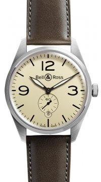 Bell & Ross BR 123 Vintage Mens watch, model number - BRV 123 Original Beige, discount price of £1,611.00 from The Watch Source