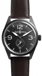 Bell & Ross BR 123 Vintage BRV 123 Original Black Carbon watch