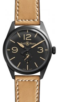 Bell & Ross BR 123 Vintage Mens watch, model number - BRV 123 Heritage, discount price of £1,740.00 from The Watch Source