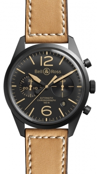 Bell & Ross BR 126 Vintage Mens watch, model number - BRV 126 Heritage, discount price of £2,500.00 from The Watch Source