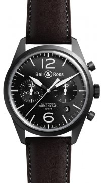 Bell & Ross BR 126 Vintage Mens watch, model number - BRV 126 Original Carbon, discount price of £2,500.00 from The Watch Source
