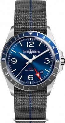 Bell & Ross BR V2-93 GMT BRV293-BLU-ST/SF watch