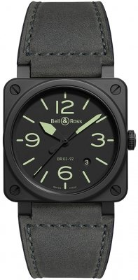 Bell & Ross BR03-92 Automatic 42mm BR0392-BL3-CE/SCA watch