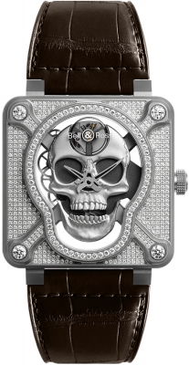 Bell & Ross BR01 Laughing Skull BR01-SKULL-SK-FLD watch