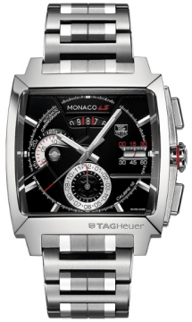 Tag Heuer Monaco LS Chronograph Mens watch, model number - CAL2110.BA0781, discount price of £5,412.00 from The Watch Source