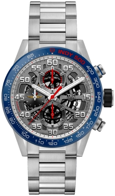Buy this new Tag Heuer Carrera Caliber Heuer 01 Skeleton 43mm car201g.ba0766 mens watch for the discount price of £3,740.00. UK Retailer.