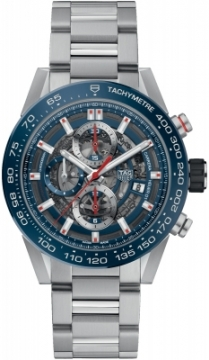 Buy this new Tag Heuer Carrera Caliber Heuer 01 Skeleton 43mm car201t.ba0766 mens watch for the discount price of £3,782.00. UK Retailer.