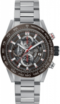 Buy this new Tag Heuer Carrera Caliber Heuer 01 Skeleton 43mm car201u.ba0766 mens watch for the discount price of £3,782.00. UK Retailer.