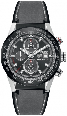 Buy this new Tag Heuer Carrera Caliber Heuer 01 43mm car201w.ft6095 mens watch for the discount price of £3,612.00. UK Retailer.