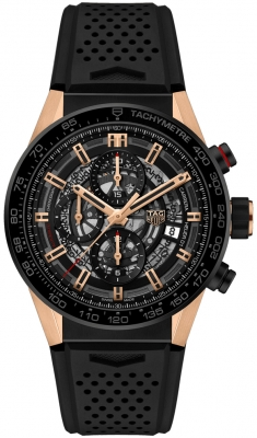 Buy this new Tag Heuer Carrera Caliber Heuer 01 Skeleton 43mm car205a.ft6087 mens watch for the discount price of £6,417.00. UK Retailer.