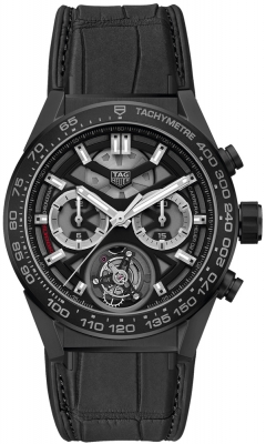 Tag Heuer Carrera Calibre HEUER 02T Tourbillon Chronograph 45mm car5a90.fc6415 watch