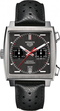 Tag Heuer Monaco Chronograph Mens watch, model number - caw211b.fc6241, discount price of £4,640.00 from The Watch Source