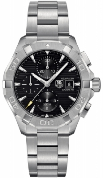 Buy this new Tag Heuer Aquaracer Automatic Chronograph cay2110.ba0927 mens watch for the discount price of £2,252.00. UK Retailer.