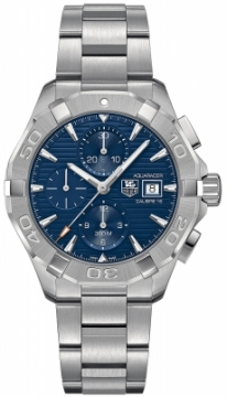 Buy this new Tag Heuer Aquaracer Automatic Chronograph cay2112.ba0927 mens watch for the discount price of £2,252.00. UK Retailer.