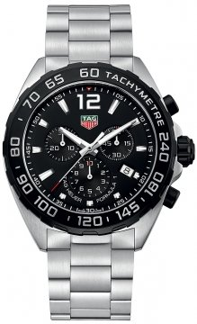 Buy this new Tag Heuer Formula 1 Chronograph caz1010.ba0842 mens watch for the discount price of £977.00. UK Retailer.