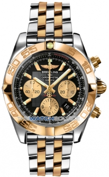 Breitling Chronomat 44 Mens watch, model number - CB011012/b968-tt, discount price of £8,720.00 from The Watch Source