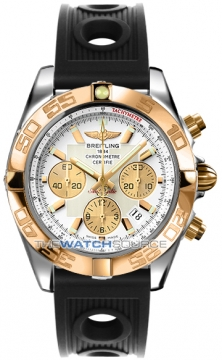 Breitling Chronomat 44 Mens watch, model number - CB011012/a696-1or, discount price of £6,900.00 from The Watch Source