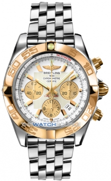 Breitling Chronomat 44 Mens watch, model number - CB011012/a696-ss, discount price of £7,530.00 from The Watch Source