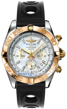 Breitling Chronomat 44 Mens watch, model number - CB011012/a698-1or, discount price of £8,720.00 from The Watch Source