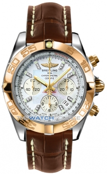 Breitling Chronomat 44 Mens watch, model number - CB011012/a698-2cd, discount price of £8,950.00 from The Watch Source