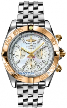 Breitling Chronomat 44 Mens watch, model number - CB011012/a698-ss, discount price of £9,340.00 from The Watch Source