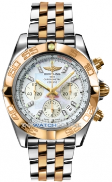 Breitling Chronomat 44 Mens watch, model number - CB011012/a698-tt, discount price of £10,540.00 from The Watch Source