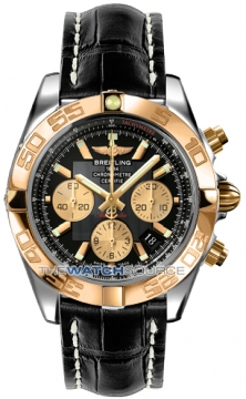 Breitling Chronomat 44 Mens watch, model number - CB011012/b968-1ct, discount price of £6,990.00 from The Watch Source