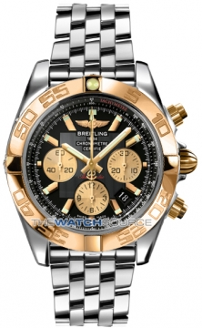 Breitling Chronomat 44 Mens watch, model number - CB011012/b968-ss, discount price of £7,530.00 from The Watch Source