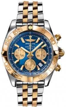 Breitling Chronomat 44 Mens watch, model number - CB011012/c790-tt, discount price of £8,750.00 from The Watch Source
