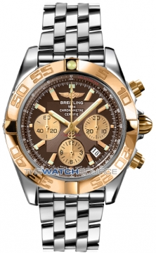 Breitling Chronomat 44 Mens watch, model number - CB011012/q576-ss, discount price of £7,530.00 from The Watch Source
