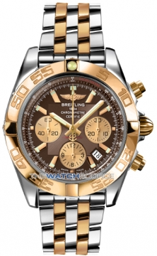 Breitling Chronomat 44 Mens watch, model number - CB011012/q576-tt, discount price of £8,750.00 from The Watch Source